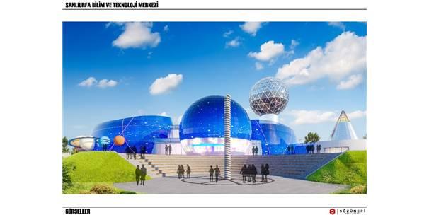 Şanlıurfa Bilim Ve Teknoloji Merkezi'nin Projesi Belirlendi