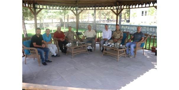 Siirt İl Jandarma Komutanı Atabay'a Ziyaret