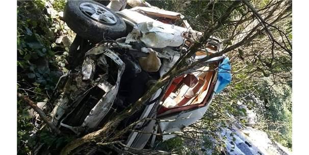 Giresun'daki Trafik Kazasında Ölü Ve Yaralı Sayısı Artıyor