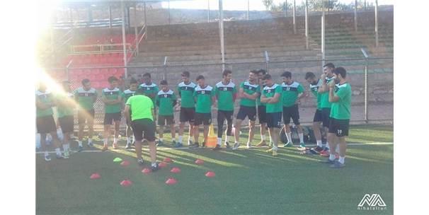 Pütürge Belediyespor'da Yeşilyurt Belediyespor Maçı Hazırlıkları Sürüyor