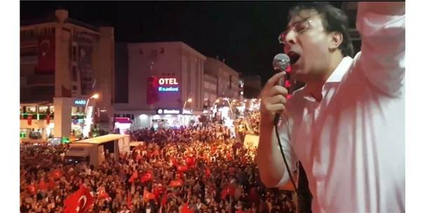 """Ak Parti Erzurum Milletvekili Aydemir: """"15 Temmuz Diriliş Destanı Ak Liderin Farkıdır"""""""