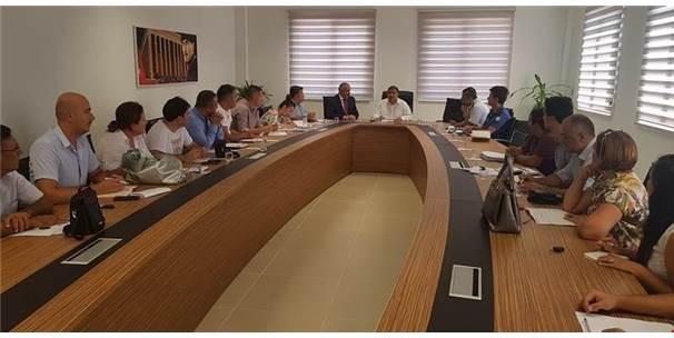 Ergene'de Okul Güvenliği Toplantısı Yapıldı