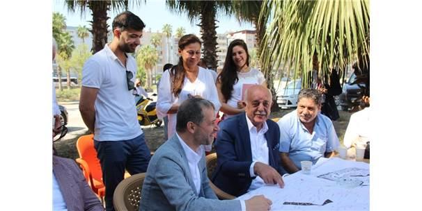 İskenderun'un Kent Parkı 100 Günde Hizmete Açılacak