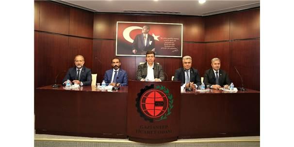 Gto Yönetim Kurulu Ve Meclis Başkanlık Divanı Komite Başkanları İle Bir Araya Geldi