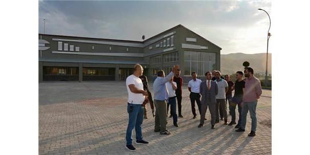 Güroymak'ta Osmanlı Mimarisi Sütunlar Yapıldı