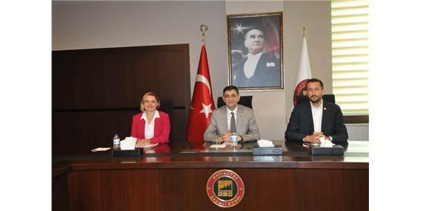 Chp Heyetinden Gaziantep Sanayi Odası'na Ziyaret