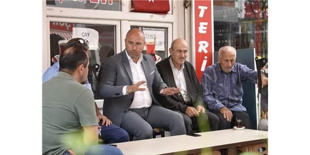 """Başkan Togar: """"Daha Güzel Bir Tekkeköy İçin Çalışıyoruz"""""""