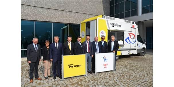 Ptt Mobil Şubesi Hizmete Açıldı