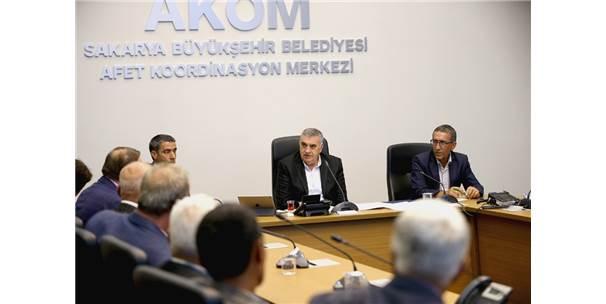 Geyve Ve Akyazı'da Muhtarlar'dan Başkan Toçoğlu'na Ziyaret