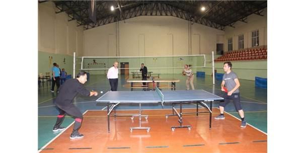 Amatör Masa Tenisi Turnuvası Sona Erdi