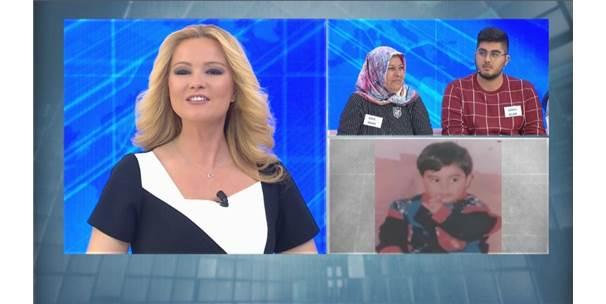 21 Yıl Önce Kaybolan Çocuk, Müge Anlı'nın Programında Bulundu ile ilgili görsel sonucu