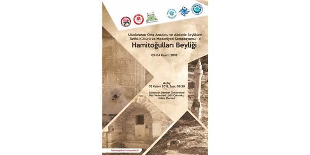 5'inci Orta Anadolu Ve Akdeniz Beylikleri Sempozyumu Düzenleniyor