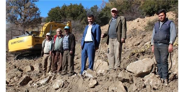 Elverişsiz Tarım Arazileri Teraslama Yöntemiyle Tarıma Kazandırıldı