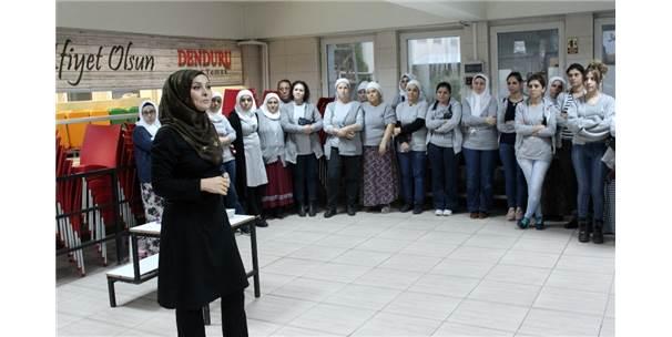 240 Tekstil Çalışanı Kadına Kanser Taraması Yapıldı