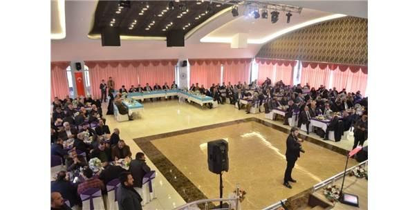 Erzincan'daki Merkeze Bağlı Köy Ve Mahalle Muhtarlarıyla Biraraya Gelindi