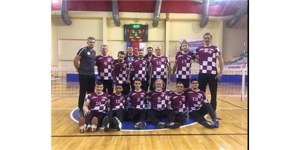 Oturarak Voleybol Türkiye Kupası'nı Kdz. Ereğli Paravolley Kazandı