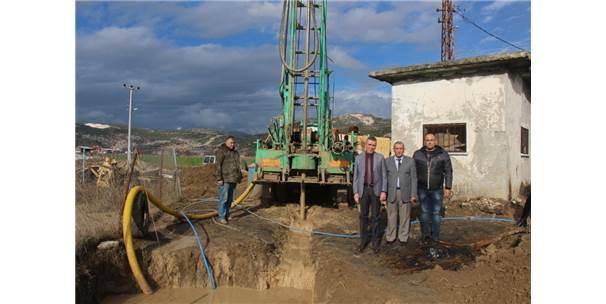 Bucak'ta İçme Suyu İhtiyacı İçin Yeni Kuyular Açılıyor