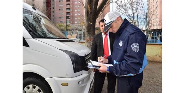 Başkent'te Servis Araçlarına Sıkı Denetim