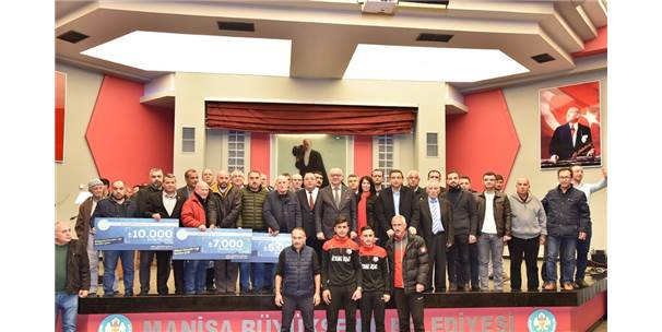 Manisa Büyükşehir'den Amatöre 264 Bin Lira Destek