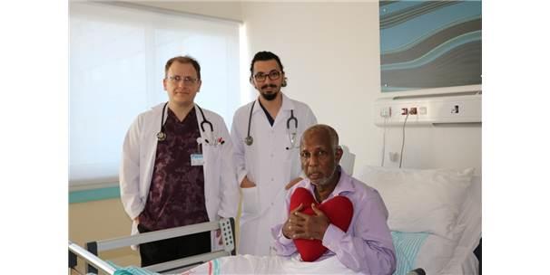 Somalili Hasta Isparta'da Şifa Buldu