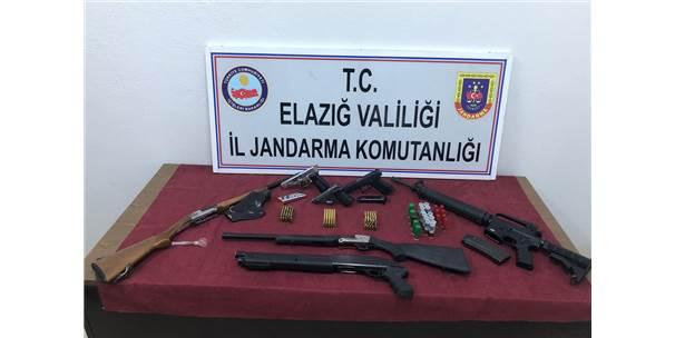 Elazığ Merkezli Silah Kaçakçılığı Operasyonu: 13 Gözaltı