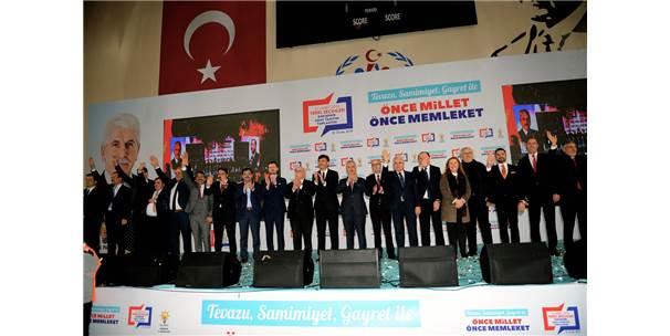 Ak Parti Eskişehir Belediye Başkan Adayları Tanıtım Toplantısı