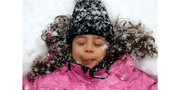 Kayseri'de Kar Yağışı