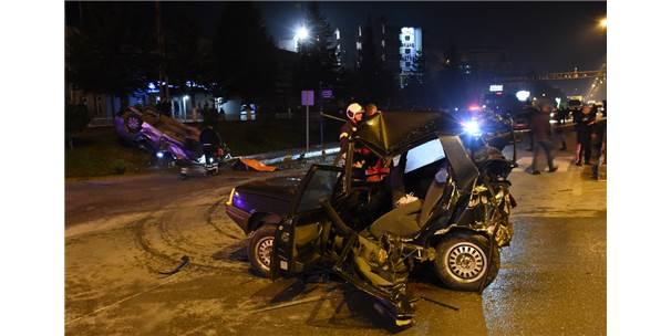 Güncelleme - Bartın'da Trafik Kazası: 1 Ölü, 3 Yaralı
