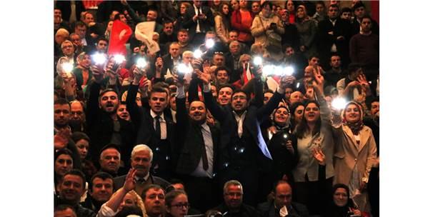 Ak Parti Sözcüsü Çelik Tekirdağ'da