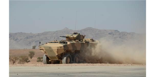 Fnss Gücünü Orta Doğu'ya Taşıyor