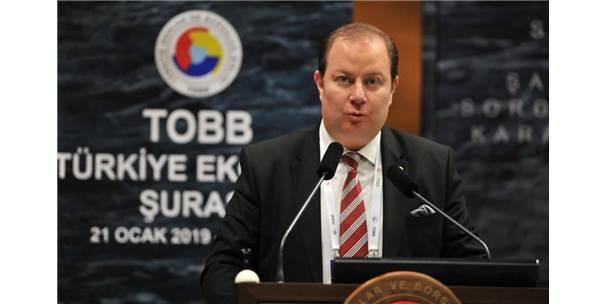 Etb Başkanı Öztürk, Türkiye Ekonomi Şurası'na Katıldı