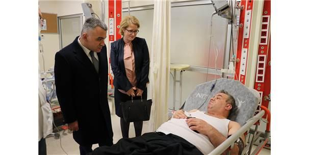 Eski Milletvekili Trafik Kazasında Yaralandı