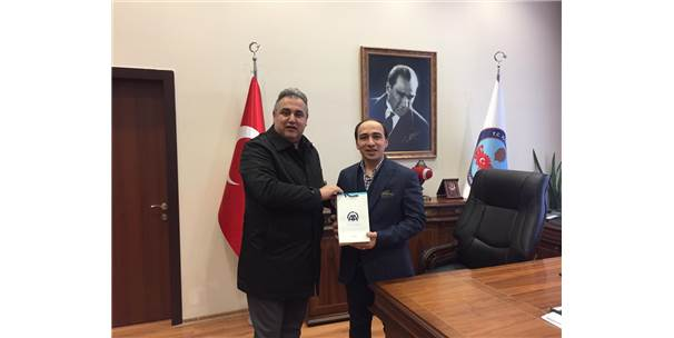 Kaymakam Atar Ve İlçe Seçim Kurulu Başkanı Firik'e Ziyaret