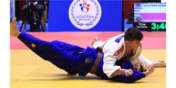 Judoda Türkiye Şampiyonası Heyecanı
