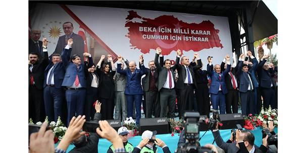 """Adana'nın """"Cumhur İttifakı"""" Adayları Tanıtıldı"""