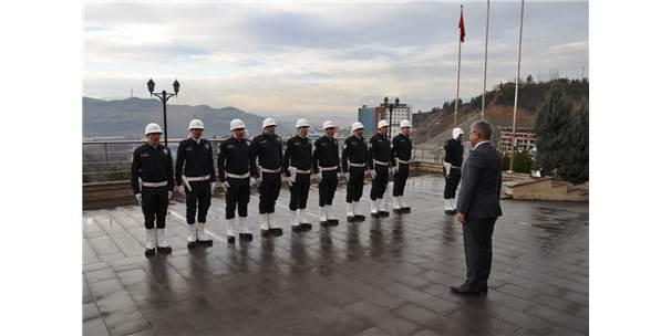 Vali Gürel'den Kolluk Kuvvetlerine Ziyaret