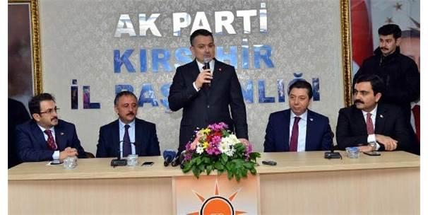 Bakan Pakdemirli Kırşehir'de