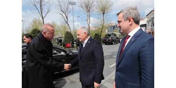 Cumhurbaşkanı Erdoğan'dan İbb Meclis Üyeleri Ve İlçe Belediye Başkanlarıyla Toplantı