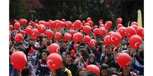 Kayseri Büyükşehir Belediyesi'nden 23 Nisan Şenliği