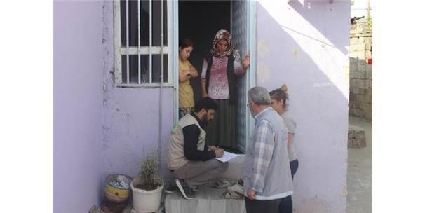 Nusaybin'de Yardıma Muhtaç Ailelere Gıda Yardımı