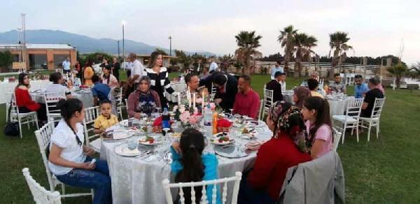 Kumlu'da Şehit Yakınları Ve Gazilerle İftar