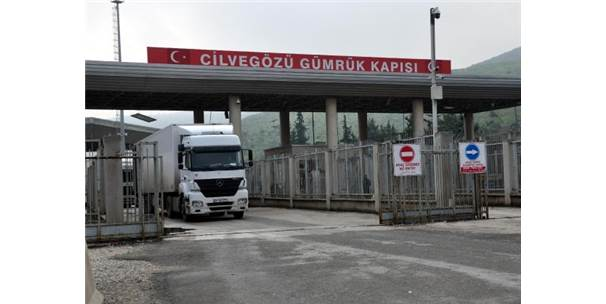 Cilvegözü'nden, Türkiye'ye İthalat Ve Transit Ticaret Yapılmasına Başlandı