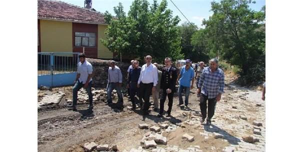 Divriği'de Selden Etkilenen Köye Ziyaret