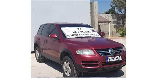 Kilis'te Gümrük Kaçağı Otomobil Ele Geçirildi