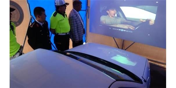 Drone Tespit Etti, Sürücüler 'Yaşam Tüneli' Nde Bilgilendirildi