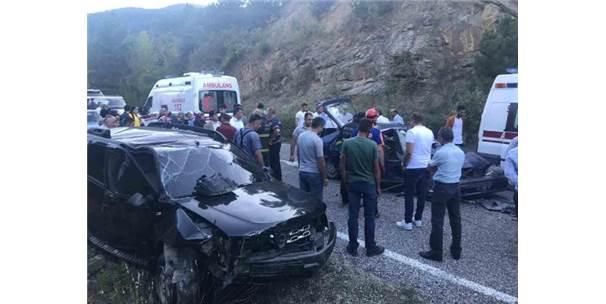 Cip İle Otomobil Çarpıştı: 1 Ölü, 2 Yaralı