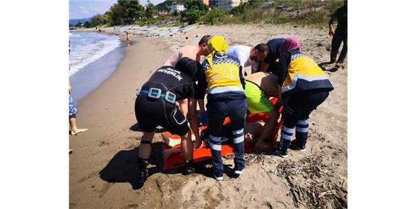 Boğulma Tehlikesi Geçiren 2 Kardeş, Hastaneye Kaldırıldı