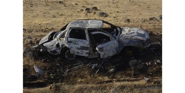 Otomobil Şarampole Devrildi: 1'İ Bebek, 4'ÜÇocuk 7 Yaralı