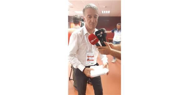 Ağaoğlu: Trabzonspor'un Hedefi Her Zaman Zirvedir