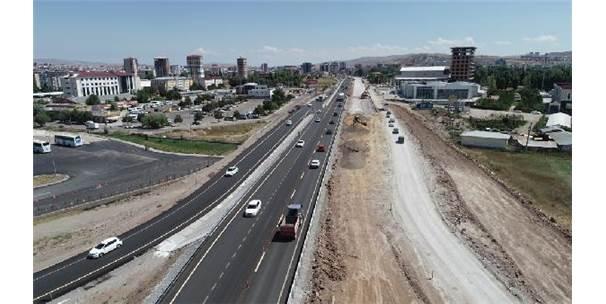 Sivas'ta Çevre Yolu, Rte Bulvarı'na Bağlandı